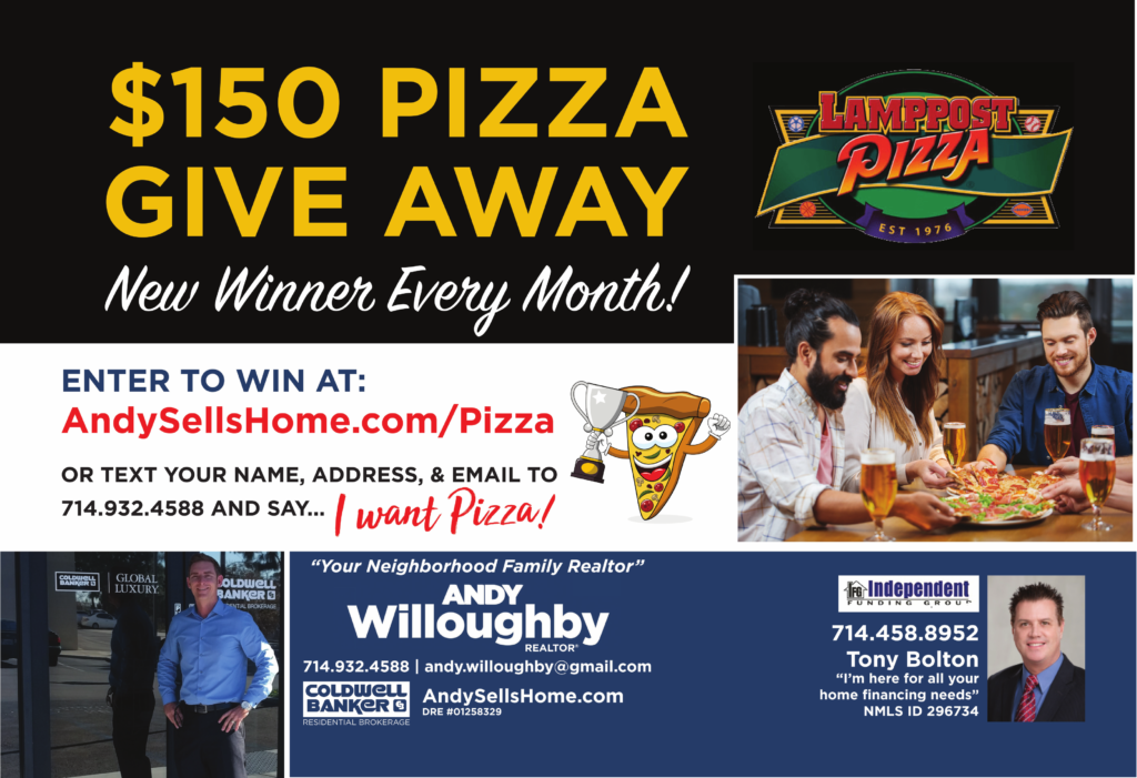 pizza giveaway